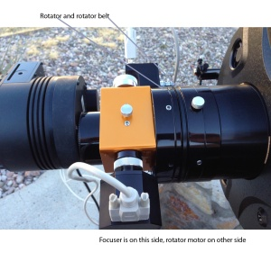 New Moonlite High Res stepper focuser/rotator fully installed