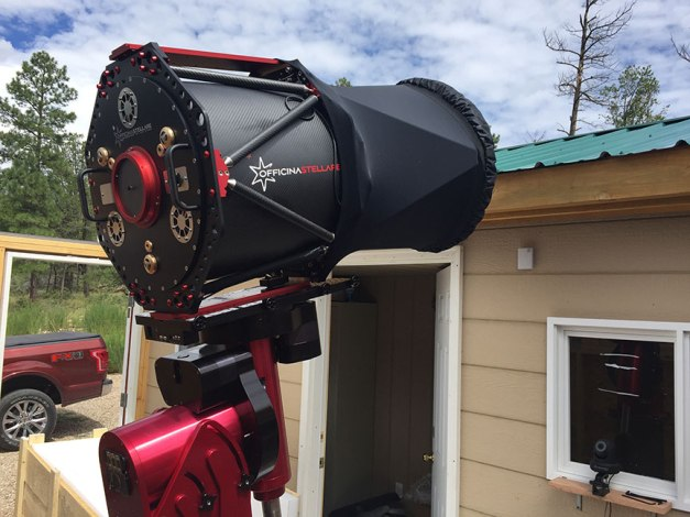 Installing and operating a high end professional telescope…for the
